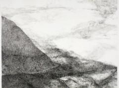 """Aus der Serie """"Landschaft mit Berg"""" - Linda Berger"""
