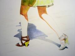 """Like a model"", Sorniza Spasova"