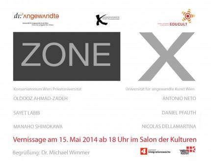 """Salon der Kulturen """"zone X"""""""