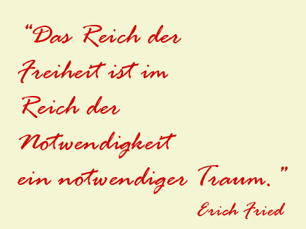 © EDUCULT, Zitat Erich Fried